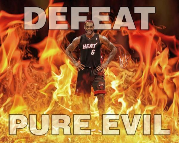 Defeat Pure Evil! Let's go Mavs!